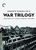 Roberto Rossellini's War Trilogy (Rome Open City / Paisan / Germany Year Zero) (The Criterion Collection)