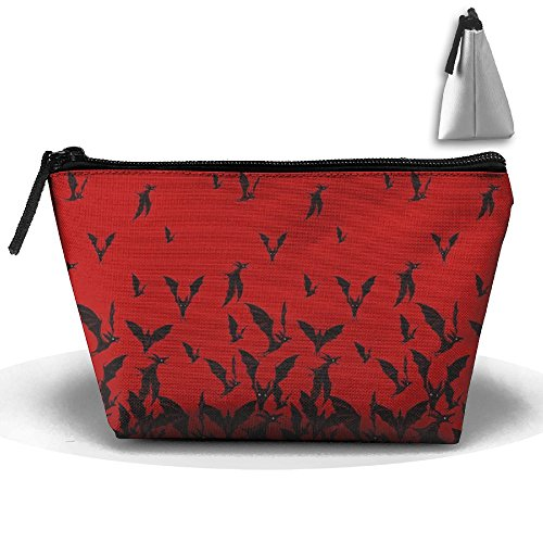 CHC40 Halloween Night Hunter Blood Toiletry Bag-Portable Travel Organizer Cosmetic Make Up Bag Case For Women Men Shaving Kit With Hanging Hook For (Halloween Simple Blood Makeup)