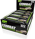 Muscle Pharm Combat Crunch Supplement, Cookies and Cream, 2.22oz.- 12 Count