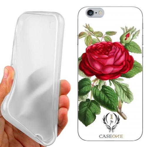 CUSTODIA COVER CASE ROSA SHABBY PER IPHONE 6S