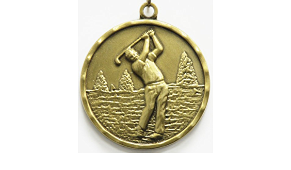 Gold Male Golf Medal Count of 10 : Sports Award ... - Amazon.com