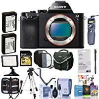 Sony Alpha A7S Mirrorless Digital Camera Bundle. Value Kit with Acc #ILCE7S