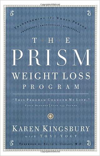 The Prism Weight Loss Program Karen Kingsbury Tony Vogt