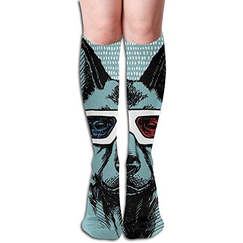 Dog Sunglasses Unisex Funny Casual Cotton Crew Socks Running Socks One - Robert Pattinson Sunglasses