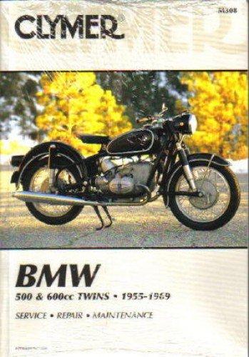 M308 1955-1969 BMW R50, R50/2,R50S, R50US, R60, R60/2, R60US, R69, R69S, R69US Clymer Repair Manual