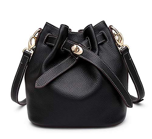 Seau À Sac Messenger Sac Sac Multi en Main Black Cuir en KOKR Usages Cuir Bag FtR5qwwE