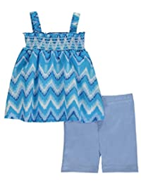 "Angel Face Baby Girls' ""Soundwaves"" 2-Piece Outfit"