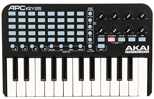Akai Professional APC Key 25 | Ableton Performance Controller with Keyboard, VIP Software Download Included