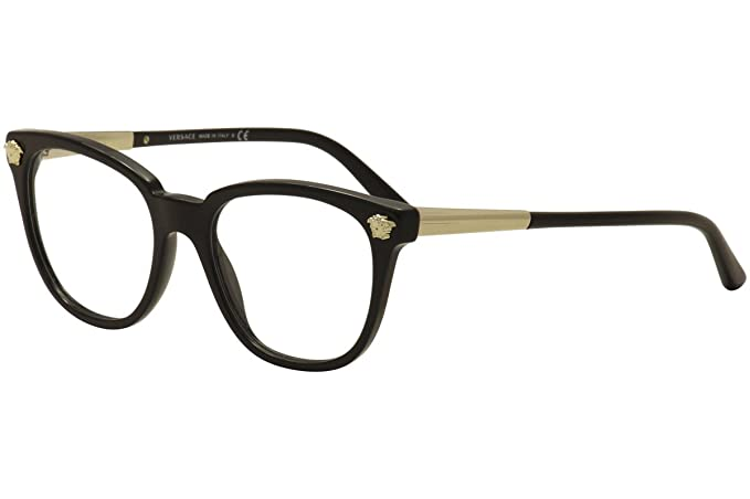 37199dc1a0 Image Unavailable. Image not available for. Colour  Eyeglasses Versace VE  3242 GB1 BLACK