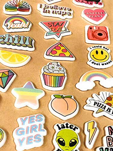 Squish Me Stickers, 3D Stickers for Scrapbooking, 25pcs Jumbo Size, Kids Craft Sticker Set -