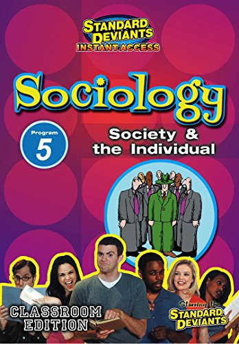 - SDS Sociology Module 5: Society and the Individual [Instant Access]