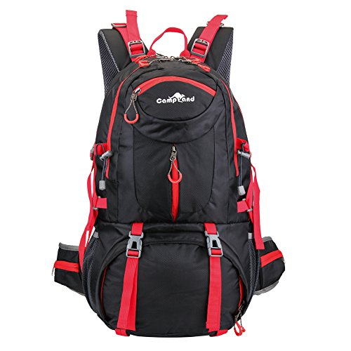 CampLand Hiking Backpack CL1702 (Red) by CampLand