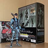 Game, Fun, Figma 243 METAL GEAR SOLID 2: SONS OF LIBERTY 15cm Snake PVC Action Figure Collectible Model Toy, Toy, Play