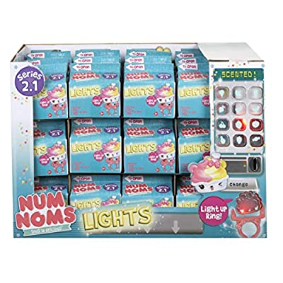 NEWEST Num Noms Lights Myster Pack Series 2.2 Blind Carton Light Up Ring! - Includes 1 Num, I Light Up Nom & 1 Ring. NEW HOLIDAY: Toys & Games
