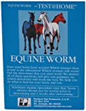 EQUINE WORM TEST-complete pre-paid AT HOME TEST for worms in horses and all types of livestock (cattle, sheep, pig, goat, chicken, camel, alpaca, etc.) Just collect 1 tsp. of stool sample and mail from your home or stable to our Licensed Vet Lab via ...