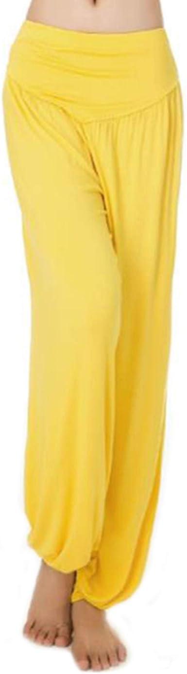 MEISHINE® Mujer Pantalones de Yoga Pantalones Deportivos Algodón Modal Harem Pantalón Polainas para Danza, Yoga, Ganduleado, Fitness - Muy Suave: Amazon.es: Ropa y accesorios