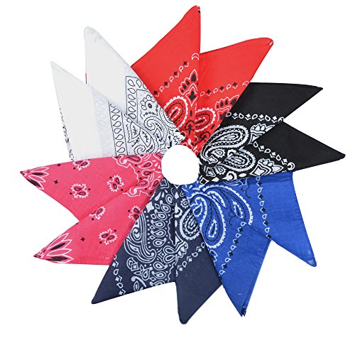 Durable Cotton Bandanas