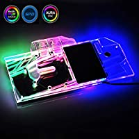 GPU Water Cooling Block for ZOTAC RTX2080-8GD6 PGF OC12,with 5V Pin RBW LED