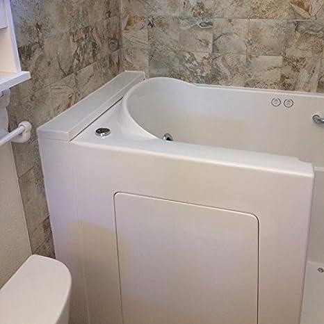 Envy Jetted Regular Right Walk in Tub Bathtubs Amazoncom