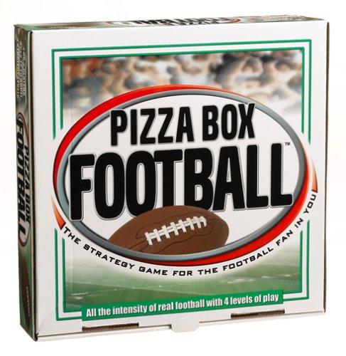 Reveal Entertainment Pizza Box Football Board (Picks Football Box)