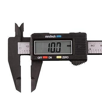 """0-150mm 6/"""" LCD Caliper Electronic Gauge Stainless Fiber Vernier Micrometer Ruler"""