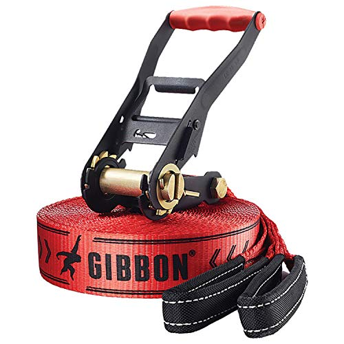GIBBON slack line Classic Line X13 yellow by GIBBON