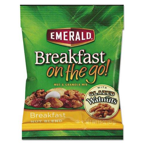 Emerald Mix (Emerald Trail Mix, Breakfast, 1.5 oz Bag, 8/BX)