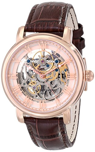 Thomas Earnshaw Men's ES-8040-03 Longcase Analog Display Automatic Self Wind Brown Watch