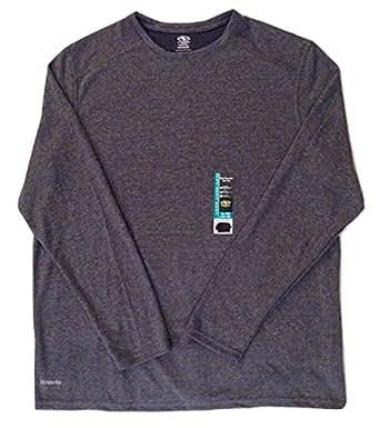 athletic works amazon clothing driworks sleeve shirt dri soft tee grey