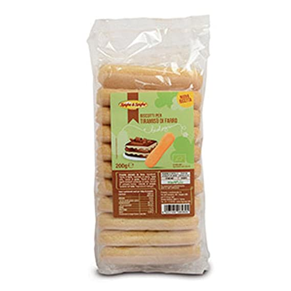 Galletas de tiramisú de espelta 200 g BIO: Amazon.es ...