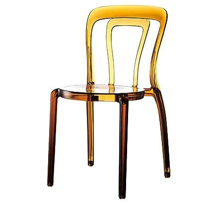 Sedie Plastica Trasparente Design.Sedia Da Pranzo Schienale Trasparente 丨 Poltrona Da Trucco