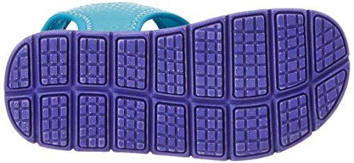 KangaROOS Unisex-Kinder KIS Ii Sandalen Türkis (Blue Radiance/Lilac)