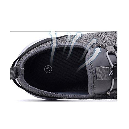 Zapatos Marea Hombre Bajos De Respirables Baja Ayuda 8632darkgray Yxlong Deportivos Hombres BwP4Ad4qx