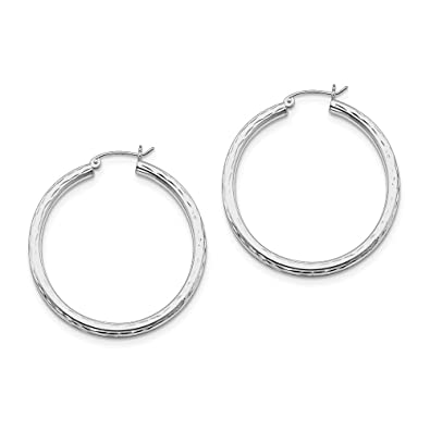 sterling hoops hoop back dp earrings amazon hinged thin snap com silver by