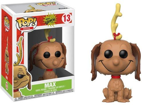 (Funko Pop Books: The Grinch - Max The Dog Collectible Vinyl)