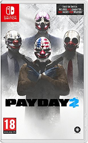 Payday 2 (Nintendo Switch) UK IMPORT