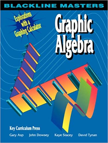 Graphic Algebra: Explorations with a Graphing Calculator (Blackline ...