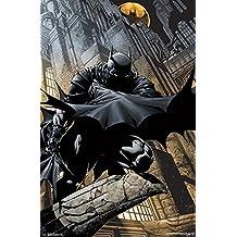 """Trends International RP15414 Batman Lurking 22.375""""x34"""" Wall Poster"""