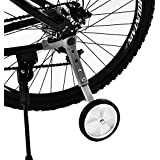 Bicycle Training Wheels Variable Speed Bicycle Training Wheels Rear Wheel Bicycle Stabilizers Mounted Kit for Children Kids Universal Bike 16 18 20 22 inch