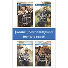 Harlequin American Romance July 2015 Box Set: The Cowboy SEAL's Triplets\The Bull Rider's Son\The Heart of a Cowboy\A Rancher of Her Own