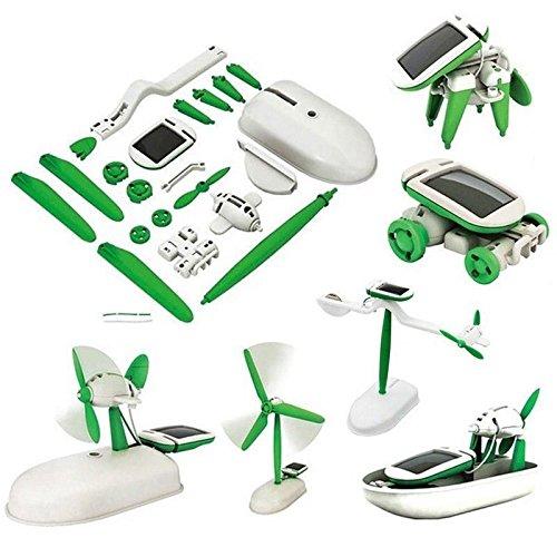 Generic.. power solar power solar reative Di Educational Learning LAR Roboter Robot Kit Kit Wasser 6 in1 Kreativ DIY Dren Spielzeug NE Kinder Spielzeug NEU