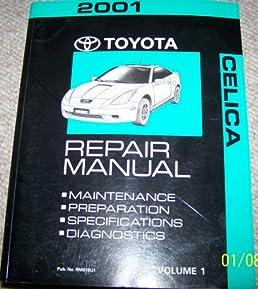2001 toyota celica service shop repair manual toyota motor corp rh amazon com 2000 Toyota Celica 2004 Toyota Celica
