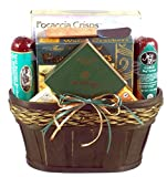 Gift Basket Drop Shipping SnDe Snackers Delight Cheese and Sausage