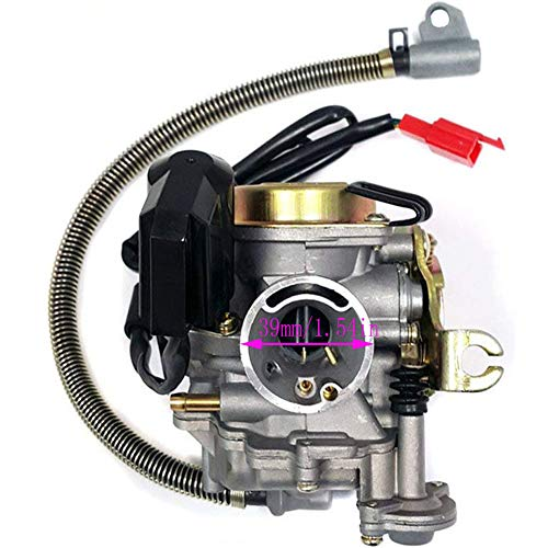 139QMB Carburetor for GY6 50CC 49CC 4 Stroke Scooter Taotao Engine 18mm carb+ Intake Manifold Air Filter by TOPEMAI by Auto parts (Image #2)