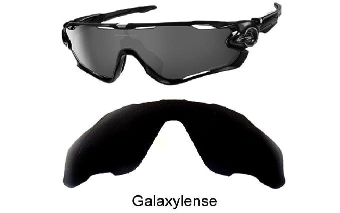 galaxylense homme verres de rechange pour Oakley Jawbreaker Lunettes de  soleil couleur noire b5efbcac7dda