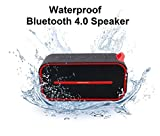 BMR Waterproof Bluetooth Speaker Portable Wireless Bluetooth Speaker with Super Bass Radiator output Bluetooth 4.0