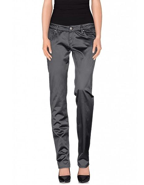 8dde99cfd3b26 Pantaloni donna MET in Jeans effetto raso lucido (25)  Amazon.it ...