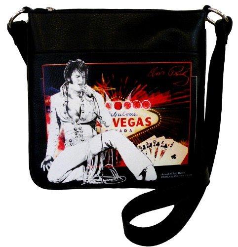 Elvis Presley EL3811 Las Vegas Cross Body Bag