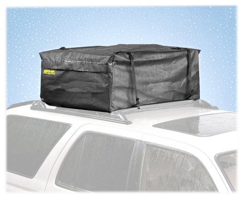 Highland 10392 Black KarPak Rainproof Car Top Carrier Highland Group 1039200
