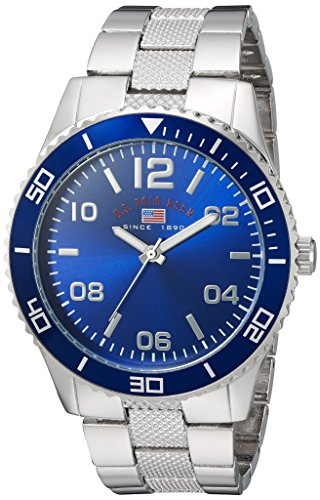 U.S. Polo Assn. Men's Quartz Metal and Alloy Casual Watch, Color:Silver-Toned (Model: - Polo Male Models